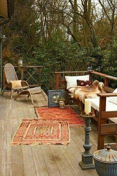 ☮ American Hippie Bohéme Boho Lifestyle ☮ Deck