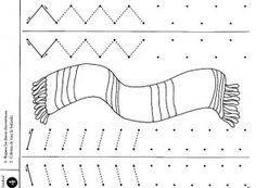 scarf trace worksheets