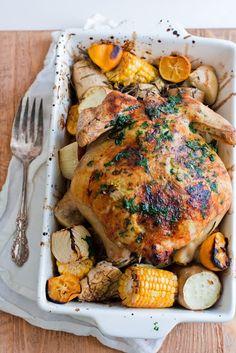 Sunshine Roast Chicken ♥ keep it simple, keep it fresh / Jamie Oliver