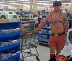 Ever want to feel better about yourself? Go to Walmart (25 Pics)