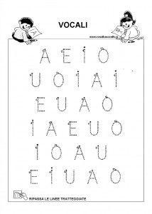 pregrafismo lettere