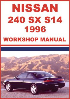 1988 nissan 200sx s13 factory service manual