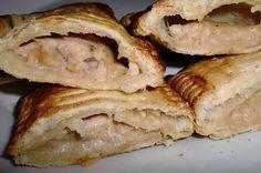 MAYTE EN LA COCINA: 213º receta: MINI PAQUETES DE HOJALDRE CON POLLO Y SETAS