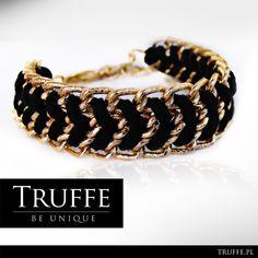 Bracelet CHANTAL. Handmade jewelry by Truffe.