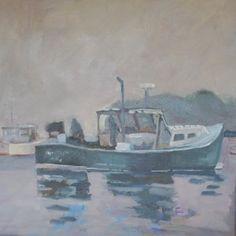 Foggy Morning by Jillian Herrigel, Dimensions: 18 x 18 in, Price: $325.00