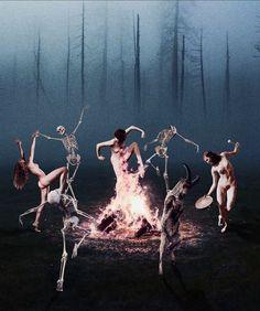 Danse Macabre, Scarlet Witch, Collage Art, Concert, Beautiful, Instagram, Skeletons, Skulls, Teeth