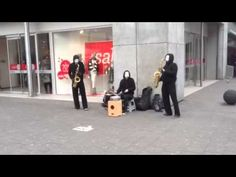 Blow trio (saxofoons) in Rotterdam
