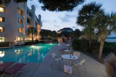 Interval International | Resort Directory Marriott's Sunset Pointe at Shelter Cove Hilton Head Island, South Carolina