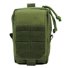 Tactical Pouches, Molle Pouches, Hunting Bags, Waist Pack, Green Bag, Phone Holder, Outdoor Camping, Edc, Gadgets