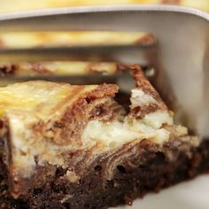 Easy Cheesecake Fudge Brownies