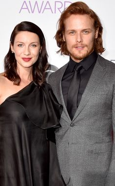 Outlander's Sam Heughan and Caitriona Balfe Spill the Real Reason You Aren't Getting New Episodes 'Til April  Caitriona Balfe, Sam Heughan