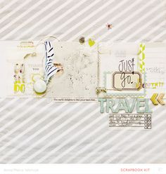 Anna-Maria Wolniak  texture modern Layout embossing colors