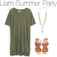 Liam Summer Party by marisaborek on Polyvore featuring polyvore fashion style Madewell Vince Camuto