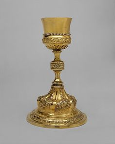 Chalice,  Assayer: Antonio Forcada y la Plaza  Assayer,Mexico city,1790-1818  Silver gilt