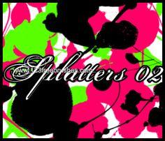 Ink Splatter Paint 102 - Download  Photoshop brush http://www.123freebrushes.com/ink-splatter-paint-102/ , Published in #GrungeSplatter. More Free Grunge & Splatter Brushes, http://www.123freebrushes.com/free-brushes/grunge-splatter/ | #123freebrushes