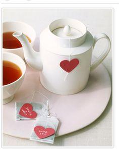 Custom cut tea labels