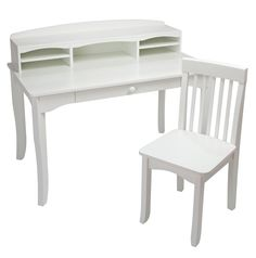Avalon Kids Desk with Hutch and Chair by KidKraft, Kids Desks