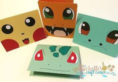 For Sale on Ebay a set of 12 handmade Pokémon cards made using Stampin' Up products. Pikachu, Charmander, Squirtle and Bulbasaur. Click the link to see the rest of the cards.
