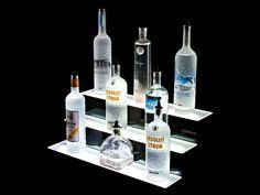 Home Bar Lighting 239 Led Lighted Liquor Bottle Display