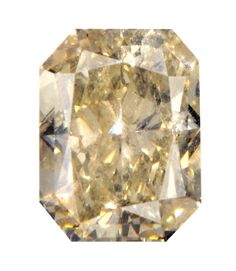 0.87 Carat Fancy Brownish Yellow Radiant Diamond