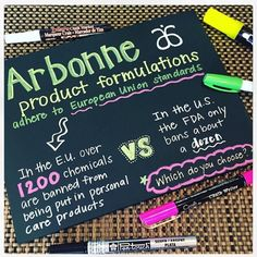 Which do you choose?...#plantbased #vegan #crueltyfree #notoxins #pure #arbonne jillkay.arbonne.com