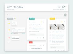 Calendar Design Inspiration — Muzli -Design Inspiration. If you like UX, design…