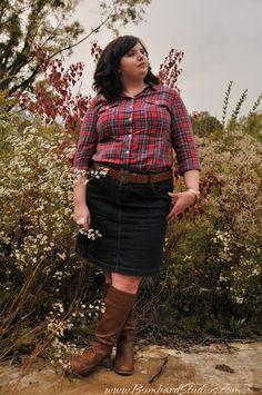 Hems for Her Trendy Plus Size Fashion for Women: November 2012