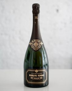 Krug Champagne. I have heard great things about it. I can't wait to try it.