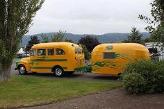 school bus homes..