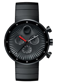 Movado Edge Chronograph Watch Designed By Yves Behar