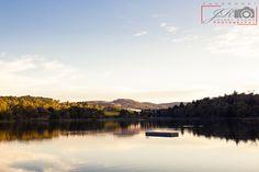landscape of the whole lake