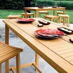 Have to have it. Oxford Garden Dartmoor Long Bar Table - $760.2 @hayneedle.com