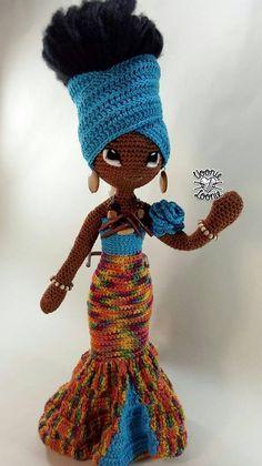 Jamila Zahara Schwarze HäkelpuppeAfroamerikaner dollOOAK Jamila Zahara Schwarze HäkelpuppeAfroamerikaner dollOOAK Jamila Zahara Black crochet dollAfrican American dollOOAK Source by viewsonicnatalya Crochet Dolls Free Patterns, Crochet Doll Pattern, Doll Patterns, Crochet Toys, Crochet Baby, Crochet Poncho, Crochet Granny, Crochet Doilies, Crochet Stitches