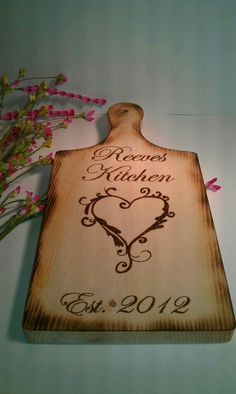 Great piece Cutting board for a wedding gift.