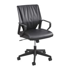 Priya™ Leather Mid Back Executive. Learn more at safcoproducts.com