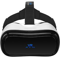VR Here All In One Virtual Reality Headset VR Glasses 1080P 90 FOV Support Remote Controller Bluetooth Wifi HDMI TF Card Apps 360 degree View for PC PS4 Xbox Youtube Google Play >>> Learn more by visiting the image link.