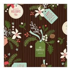 Personalized Wrapping Paper - Minted