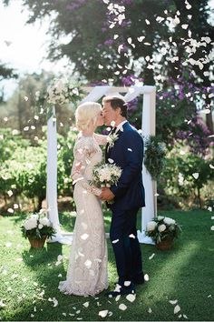 Whether you're planning an intimate destination wedding elopement, or a grand wedding weekend get inspired by these 12 gorgeous destination weddings! Destination Wedding Inspiration, Destination Weddings, Intimate Wedding Ceremony, Greek Wedding, Wedding Confetti, Wedding Weekend, Industrial Wedding, Wedding Bells, Wedding Styles