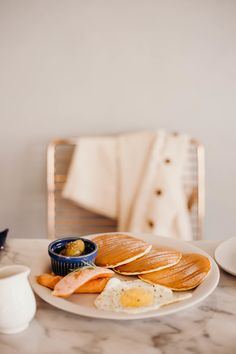 Wellness Habit: Keeping a Food Diary | On the Street Where We Live (aretherelilactrees.com) pancakes, breakfast, brunch