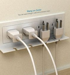 Hang On Outlet – cool idea