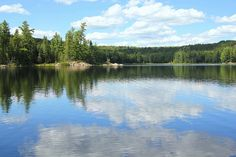 Blue Lake and Sky