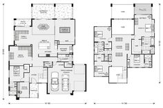 Blue Water | G.J. Gardner Homes. Five bedrooms and Study with guest room on main level