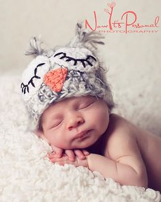 Someone I know needs to have a baby so I can make them this as a gift...baby owls...how cute??!!!??  Crochet PATTERN Hat Owl Baby Hat Easy Crochet PDF by PoshPatterns, $3.99
