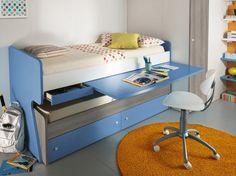 Cama nido + escritorio