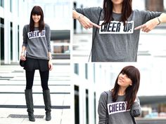 love the sweater!   Cheer Up! (by Lucy De B.) http://lookbook.nu/look/4387667-Cheer-Up