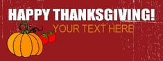 Thanksgiving Banner #8400 Thanksgiving Banner, Happy Thanksgiving, Red Carpet Backdrop, Event Banner, Backdrops, How To Memorize Things, Prints, Happy Thanksgiving Day, Red Carpet Background