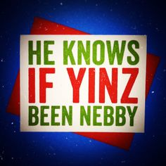 Pittsburgh, Pennsylvania -  Yinzer Christmas Card - I LOVE THIS!!
