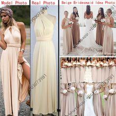 Red bandage long dress sexy Multiway Bridesmaids Convertible Dress robe longue femme