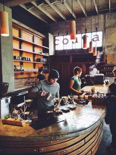 Bar Café de filtro