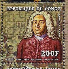 Stamps of George Fr. Handel